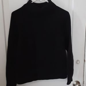 Black womens sweater